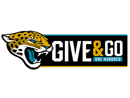 Jags Give and Go!
